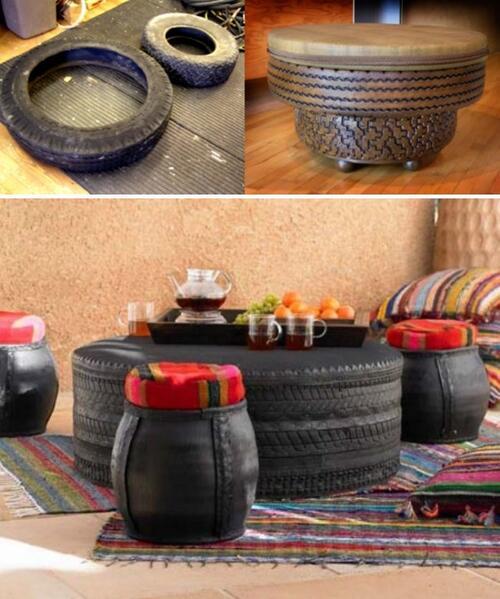 Старата автомобилна гума и нейните роли