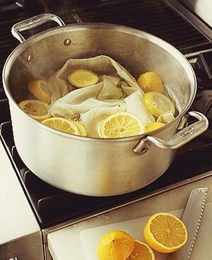 Почистване на дома със сода, лимон и оцет