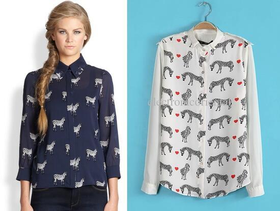Животинки пълзят по дрехите. Но какво означават?