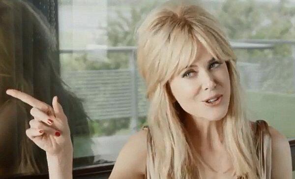 Никол Кидман като Грейс Кели и Бриджит Бардо