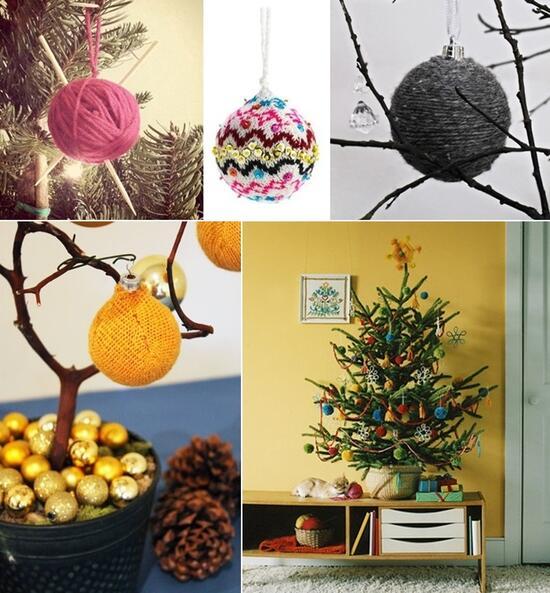Да украсим Коледа с подръчни материали