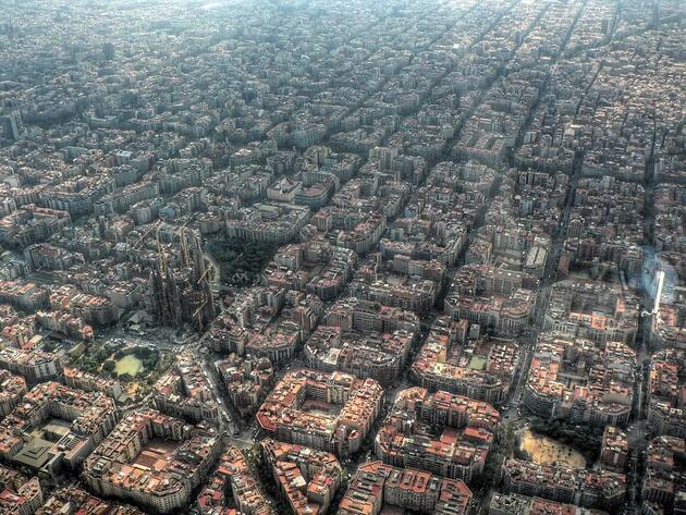 Градовете - такива, каквито ги виждат птиците