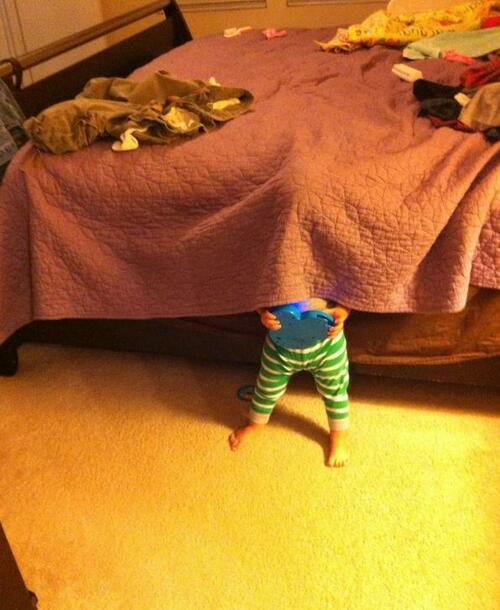 20 смехотворни детски опита за игра на криеница