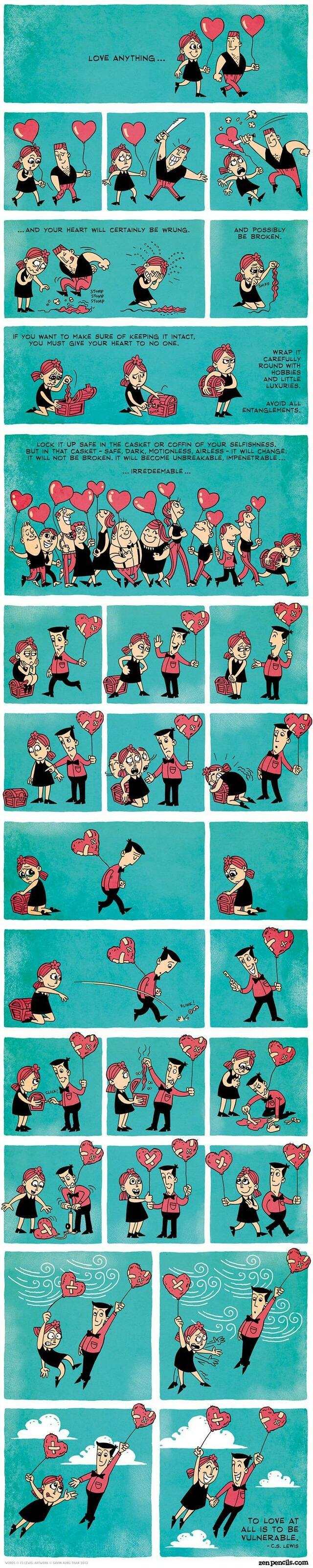 Най-красивото и вярно обяснение на любовта