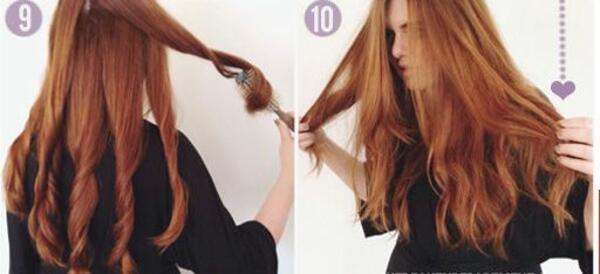 Най-лесният начин да изсушите косата си с четка и сешоар