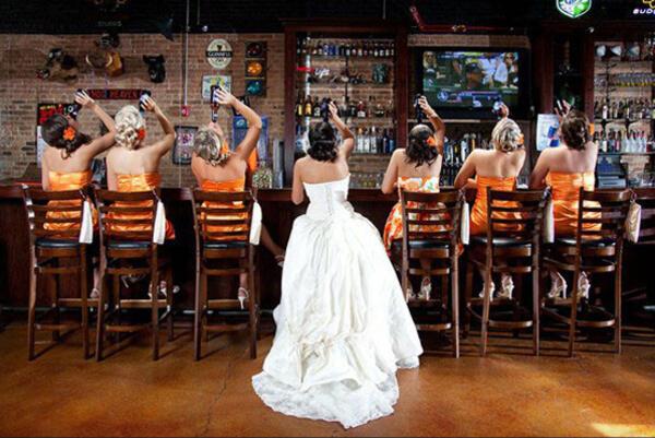 Креативни идеи за вашите сватбени снимки