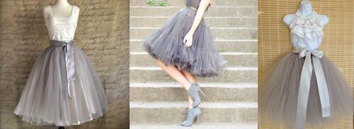 Превърнете се в градска принцеса с тюлена рокля!