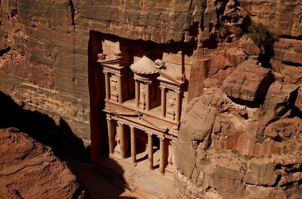 Мистичният древен град Петра