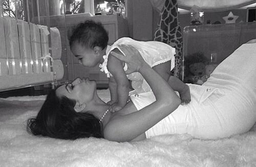 Разтапящите семейни снимки на Миранда, Шакира и Ким