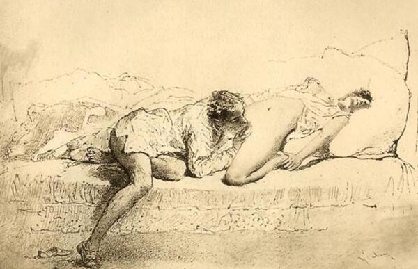 Покъртително откровената еротика на XIX век (18+)