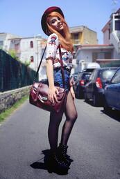 Изборът на Jenite: Блуза с котешки портрети