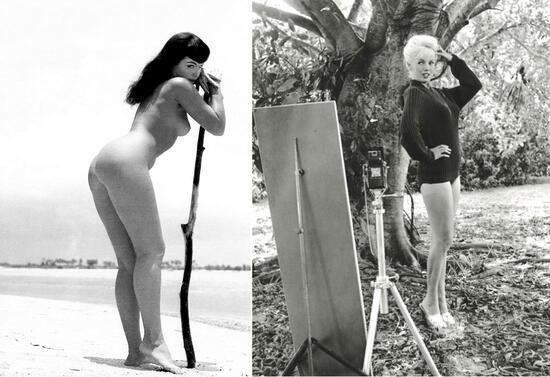 Жената, запечатала идеала за голо тяло от 50-те (18+)