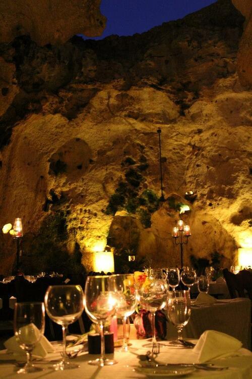 На вечеря в хилядолетна пещера