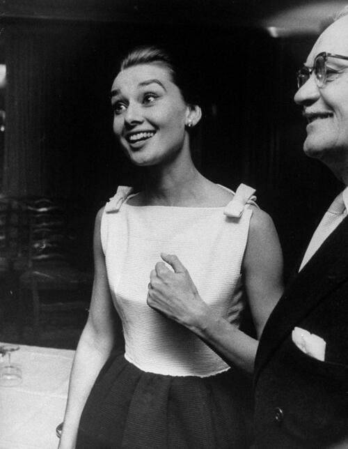 Невиждани снимки и безценни цитати на Одри Хепбърн