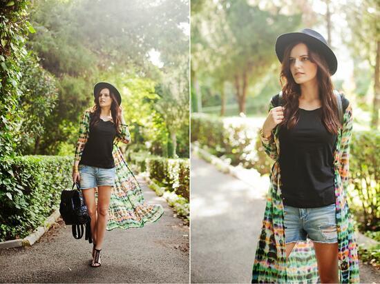 Светът на модните блогърки: Цветното момиче от Истанбул