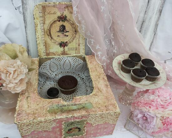 Винтидж идеи от Martinel: Кутия за хубави неща