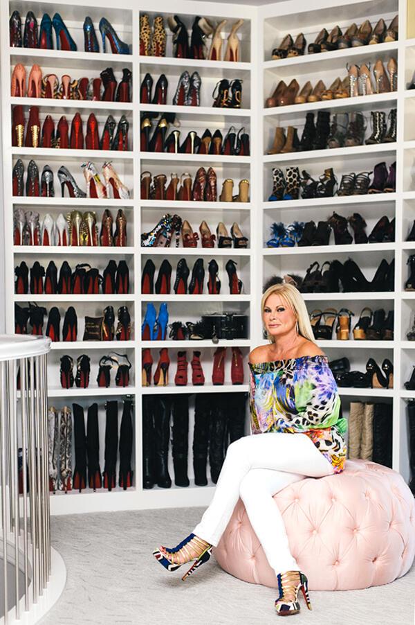 Мечтата на всяка жена: Най-големият гардероб в света