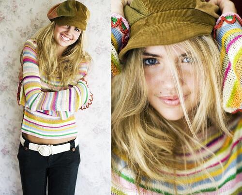 Непоказваните тийнейджърски снимки на Кейт Ъптън