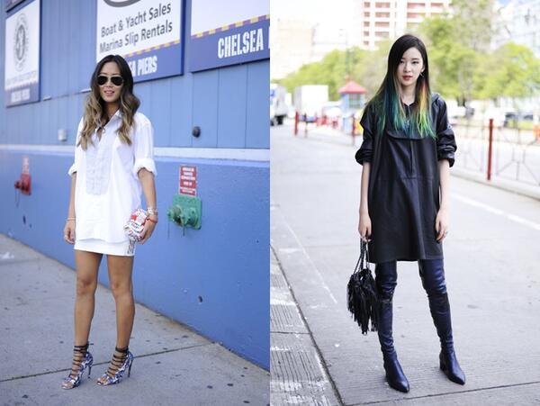 Седмица на модата в Ню Йорк: Най-доброто от уличния стил