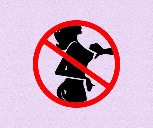 Бюстител на законите, които женските гърди спазват