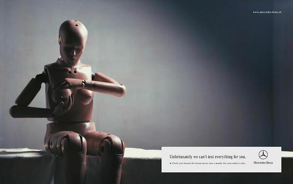 Най-силните и въздействащи реклами срещу рака на гърдата