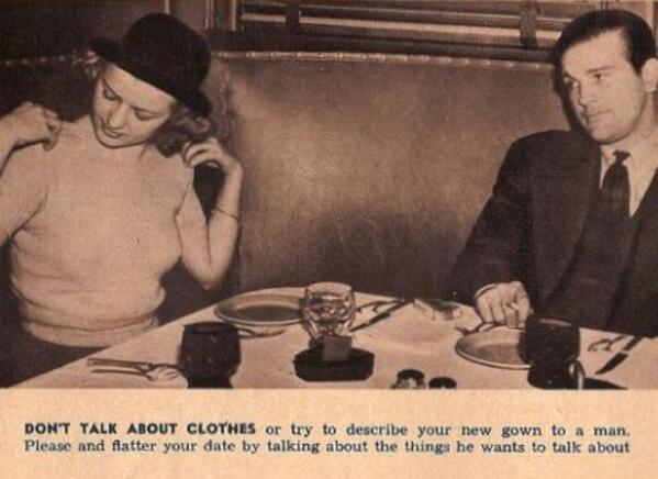 Съвети за необвързани дами от далечната 1938 година