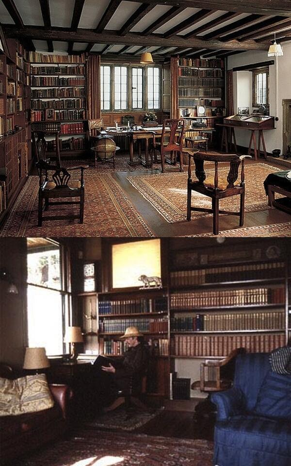Работните места на най-великите писатели и художници в света