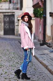 Изборът на Jenite: Розов велур