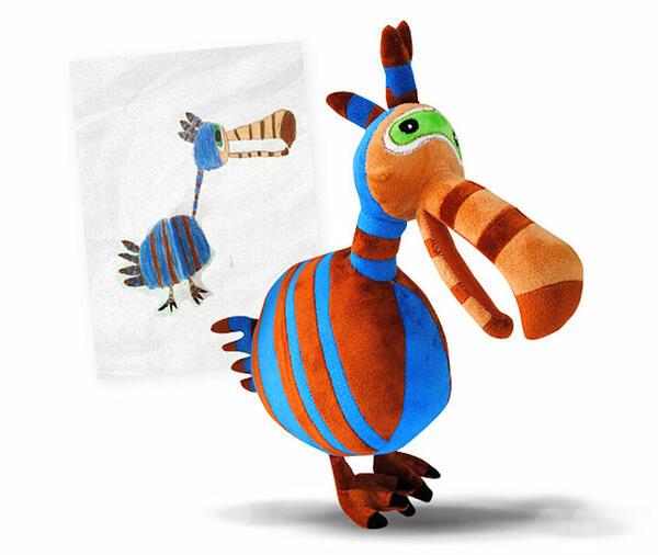 Детската фантазия оживява под формата на плюшени играчки
