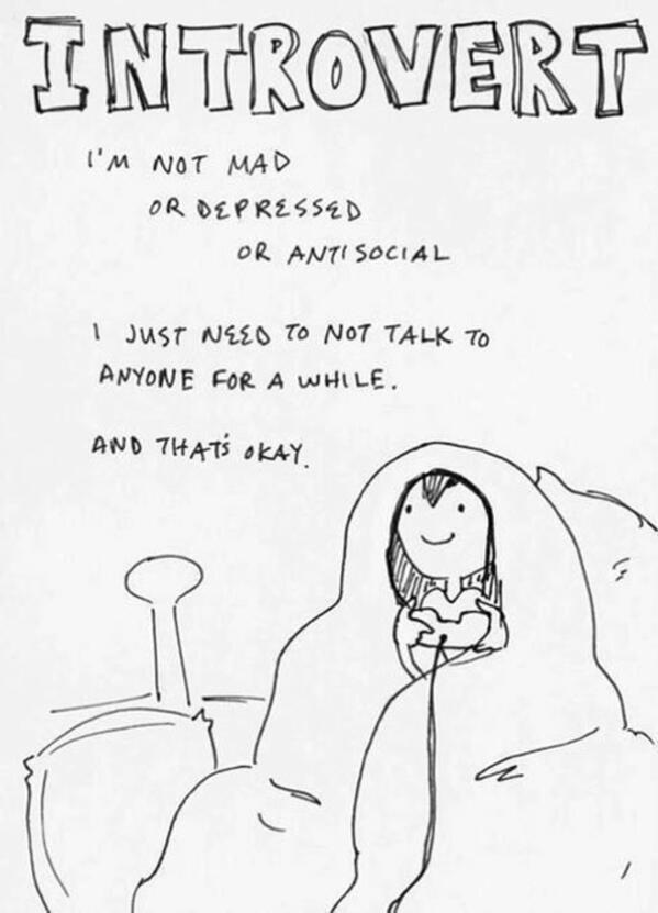 Житие и страдания на един интроверт в 15 точки