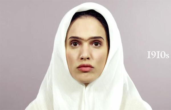 От ефектна прическа до чадор: Женската красота в Иран