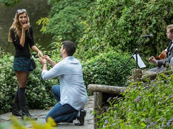 Кой е най-правилният отговор на предложението за брак?