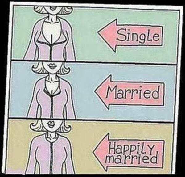 След брака: Как се променя животът на младоженците?