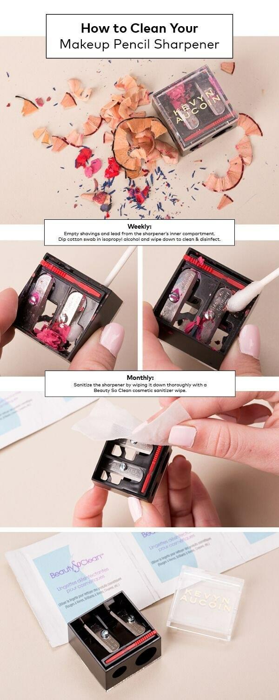 10 начина за почистване на козметичните принадлежности