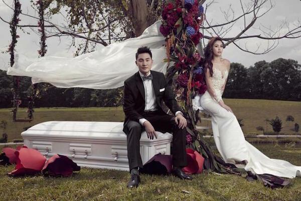 Сватбени снимки в... ковчег!