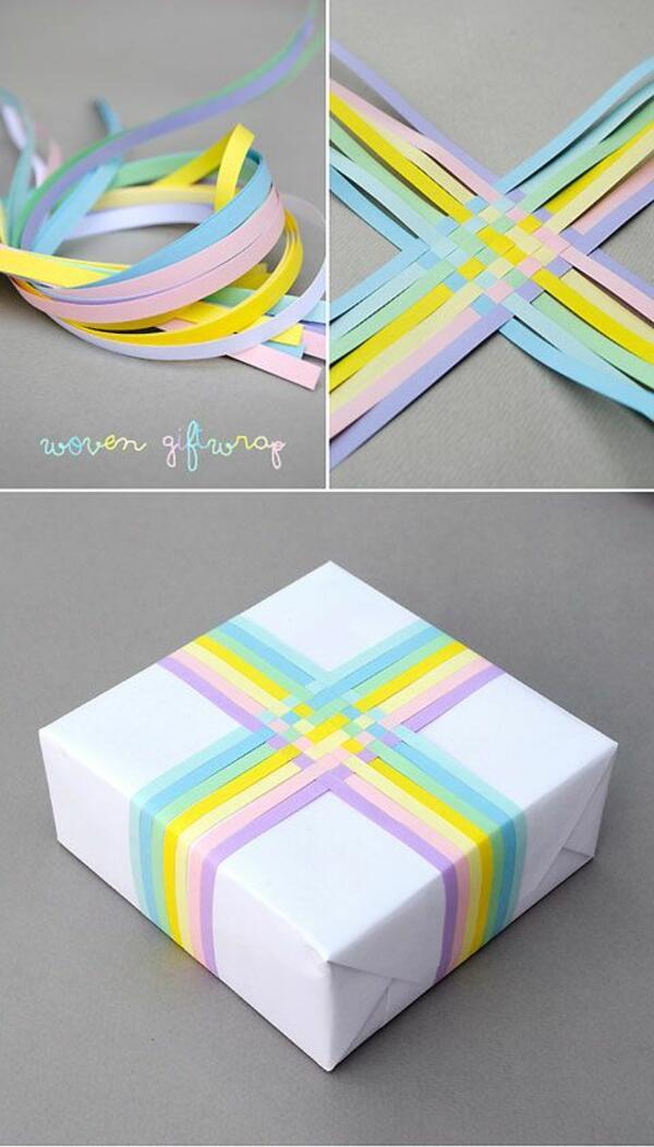 Облечете креативния подарък в красива опаковка