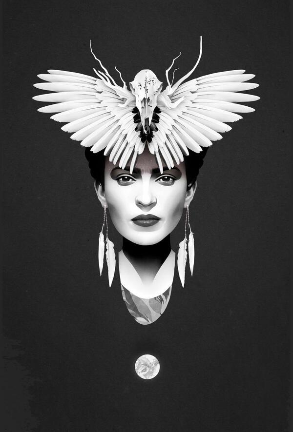 Хипнотизиращи женски портрети в минималистичен стил