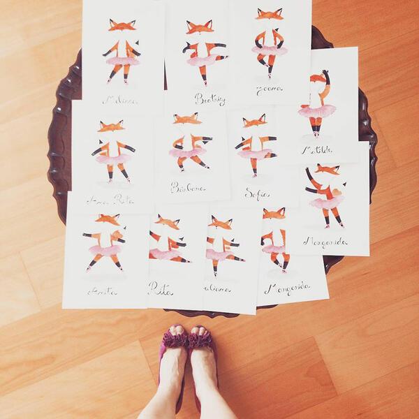 Забързаното ежедневие на една заета балерина