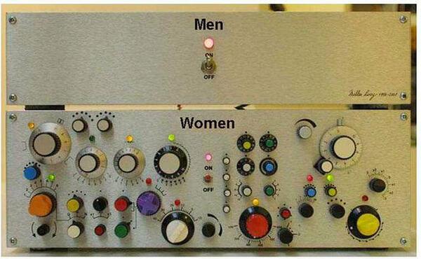 12 илюстрации на непреодолимите различия между мъжете и жените