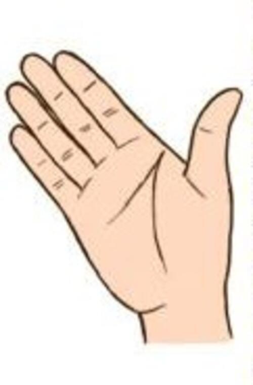 ТЕСТ: Какви са вашите характерни особености според разстоянието между пръстите?