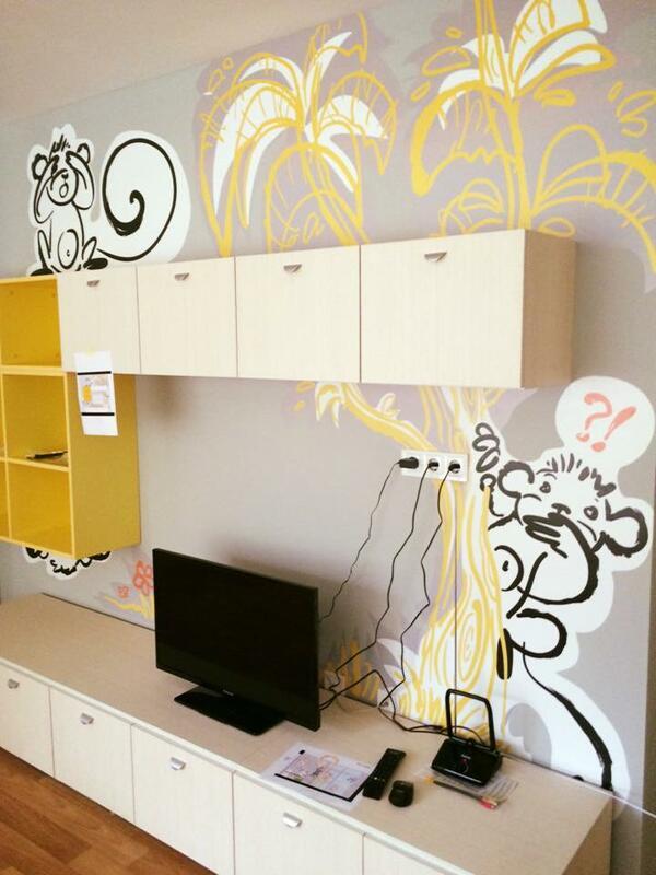 Детската къща с приказна украса