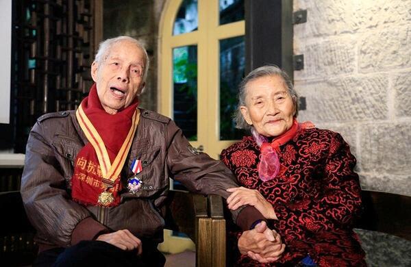 Най-романтичната двойка в Китай пресъздава сватбата си след 70 години съвместен живот