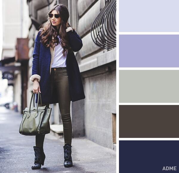 15 модерни цветови комбинации за супер стилни зимни визии
