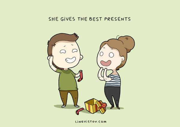 12 сладки причини, поради които един мъж обича жената до себе си!