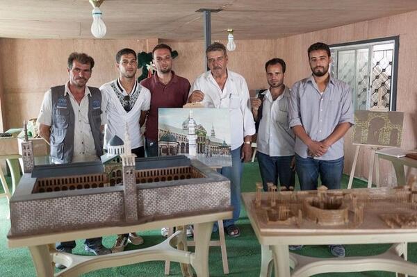 Творческо макетно съхранение на разрушеното културно наследство на Сирия