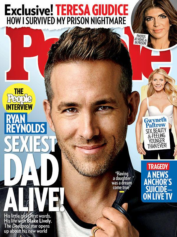 Райън Рейнолдс е най-секси таткото на планетата!