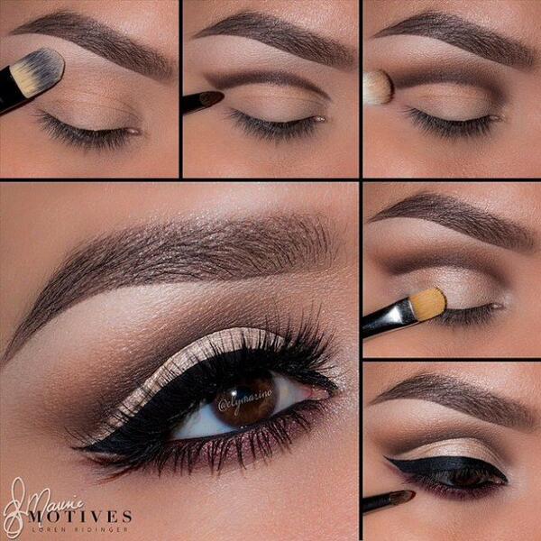 Стъпка по стъпка: Направите си зашеметяващ грим, с който да подчертаете очите си