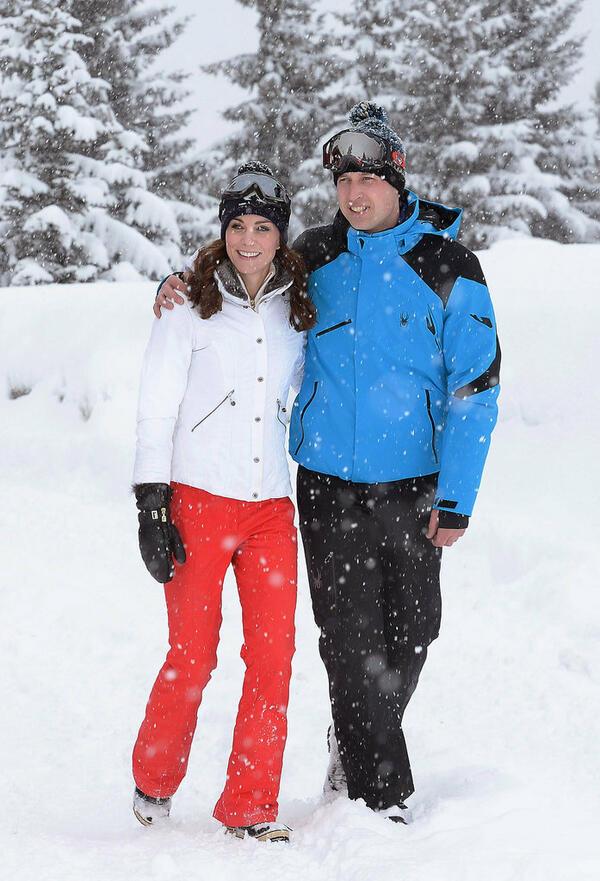 Oчарователните снимки от зимната ваканция на кралското семейство