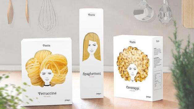 Креативен дизайнер превръща италианската паста в... женски прически!