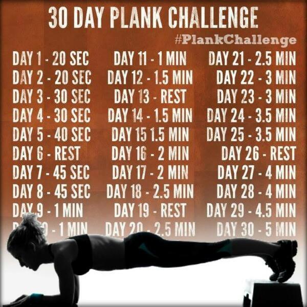30-дневно предизвикателство за извайване на плоско секси коремче